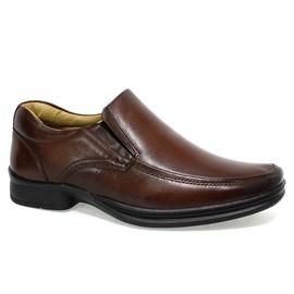 Sapato Rafarillo Couro Liso Masculino Marrom