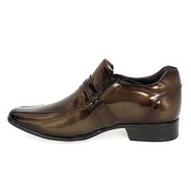 Sapato Rafarillo Las Vegas em Couro Masculino Topázio Marrom