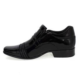 Sapato Rafarillo Las Vegas em Couro Preto