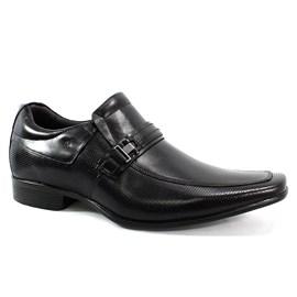 Sapato Rafarillo Perfurado Couro Masculino Preto