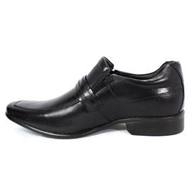Sapato Rafarillo Perfurado Couro Preto Masculino