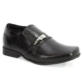 Sapato Sames Social Menino Preto