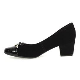 Sapato Santinelli Nobuck Feminino Preto