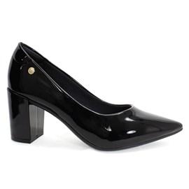 Sapato Santinelli Salto Grosso Feminino Preto