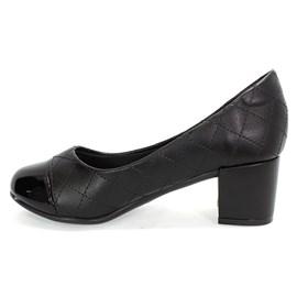 Sapato Santinelli Social Bico Redondo Feminino Preto