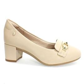 Sapato Santinelli Social Feminino Bege