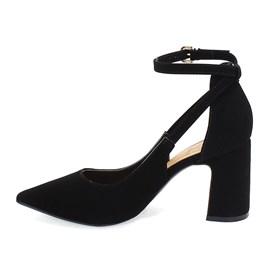 Sapato Scarpin Bebecê Nobuck Feminino Preto