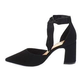 Sapato Scarpin Bebecê Nobuck Palatino Feminino Preto
