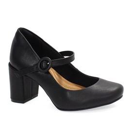 Sapato Social Bebecê Manhattan Feminino Preto