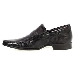 Sapato Social Masculino Conforto Preto Rafarillo