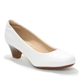 Sapato Social Modare Sense Flex Feminino Branco