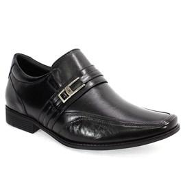 Sapato Social Pipper Couro Masculino Preto