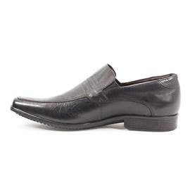 Sapato Social Pipper Em Couro Liso Masculino Preto