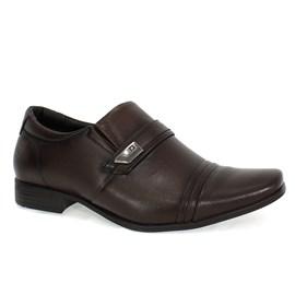 Sapato Social Pipper Spencer Sem Cadarço Masculino Marrom