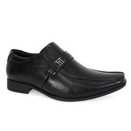 Sapato Social Pipper Spencer Sem Cadarço Masculino Preto