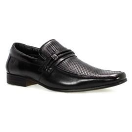 Sapato Social Rafarillo Trabalhado Masculino Preto