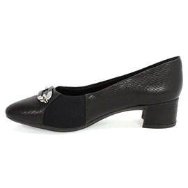 Sapato Usaflex Bico Fino Feminino Preto