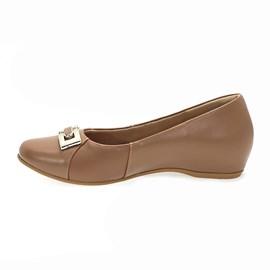 Sapato Usaflex Napa Sense Feminina Marrom