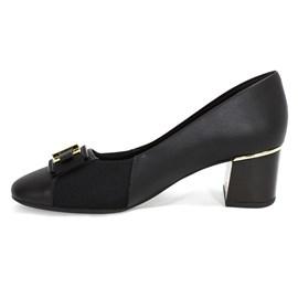 Sapato Usaflex Soft Slim Feminino Preto