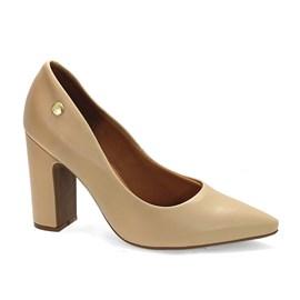 Sapato Vizzano Pelica Social Feminino Bege