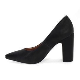 Sapato Vizzano Pelica Social Feminino Preto