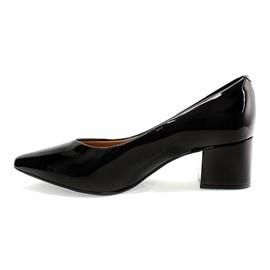 Sapato Vizzano Salto Bloco Feminino Preto