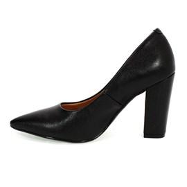 Sapato Vizzano Social Bico Fino Feminino Preto