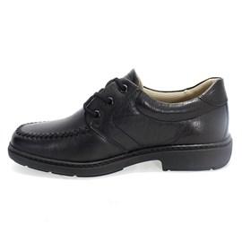 Sapato Vudalfor Couro Masculino Preto