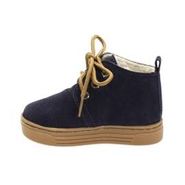 Tênis Boot Katurê Forrado com Lã Menino Azul