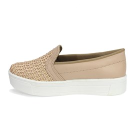 Tênis Dakota Slip On Tramado Feminino Nude