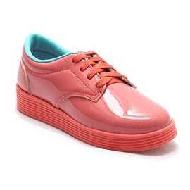 Tênis Diversão Fashion Up Menina Coral Rosa