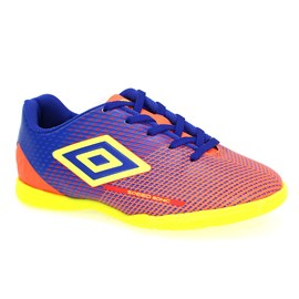 Tênis Indoor Umbro Speed Sonic Menino Coral