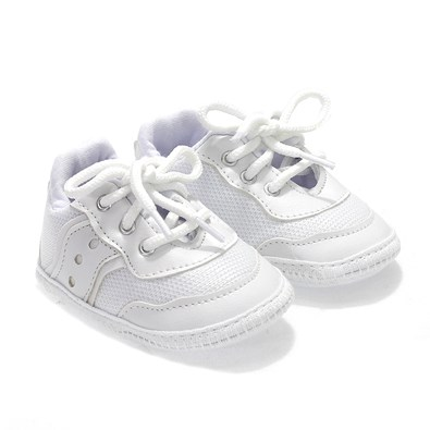 Tênis Keto Cadarço Bebê Branco