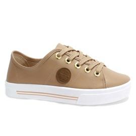 Tênis Moleca Napa Sardenha Shoes Feminino Nude
