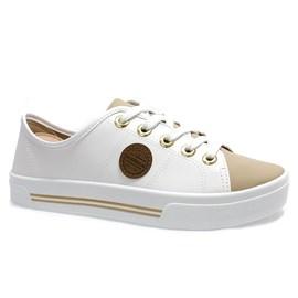 Tênis Moleca Napa Shoes Feminino Branco