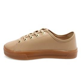 Tênis Moleca Napa Shoes Feminino Nude