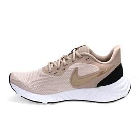 Tênis Nike Revolution 5 Feminino Rosa e Branco