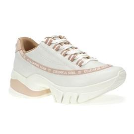 Tênis Ramarim Napa Vest Plus Branco e Rosê