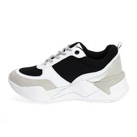 Tênis Ramarim Vest Plus Feminino Branco com Preto