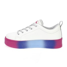 TENIS WORLD COLORS TABY BY 188.001  BRANCO
