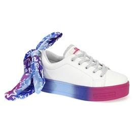 Tênis World Colors Taby Menina Branco